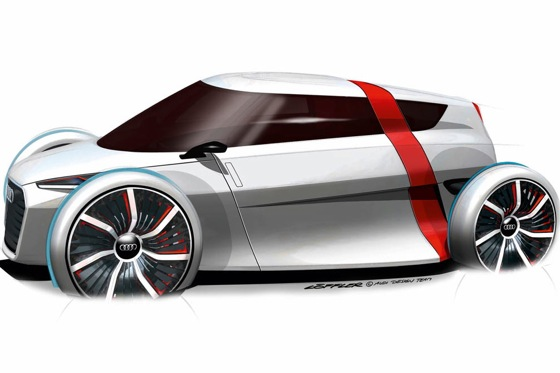 Audi to Bring 1+1 Electric City Car to Frankfurt