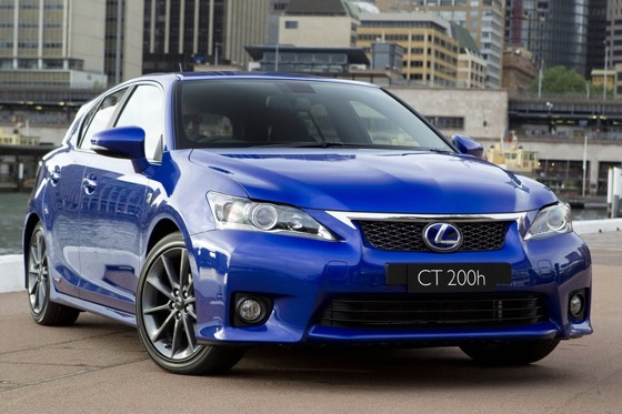Lexus Debuts F Sport Package for CT200h