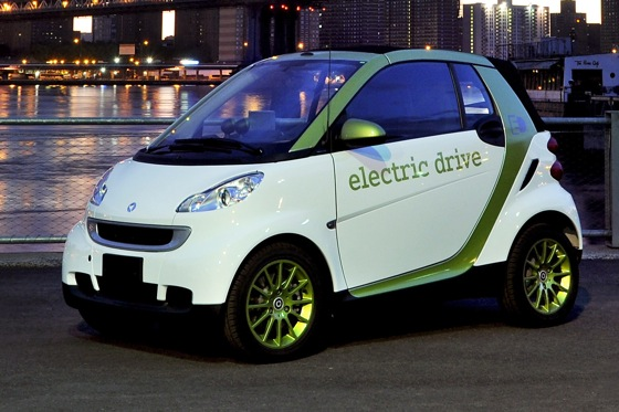 2012 Smart Fortwo Electric Drive: Lots of Pep In A Small Package