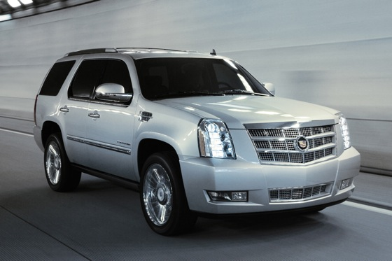Escalade Named Most-Stolen Vehicle
