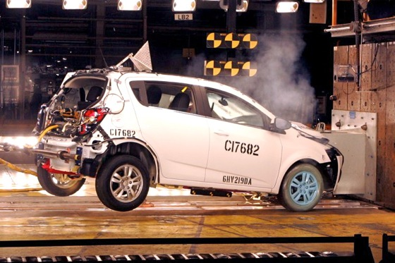 Chevy Sonic Great Choice For Safety featured image large thumb0