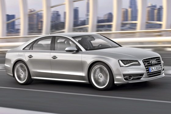 Audi to Show Off Sporty S8 at Frankfurt