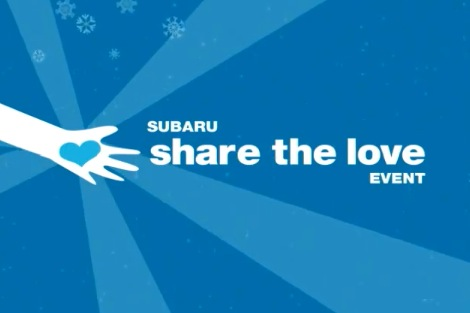 Subaru Shares The Love With Charities