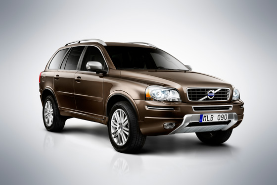Volvo Refines XC90 Crossover for 2012