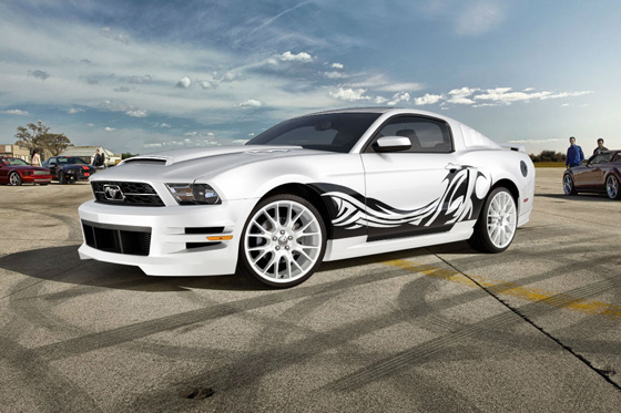 Pony Cars Run Wild on Ford Mustang Customizer featured image large thumb0