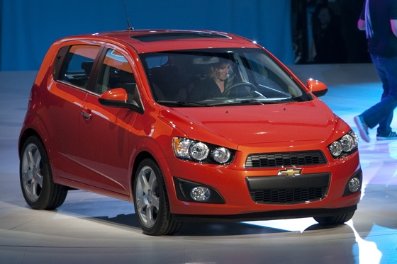2012 Chevrolet Sonic Receives Praise for Safety featured image large thumb0