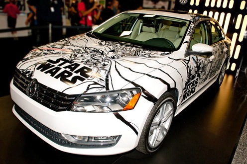 "Special ""Star Wars"" Passat Auctioned for Charity featured image large thumb0"