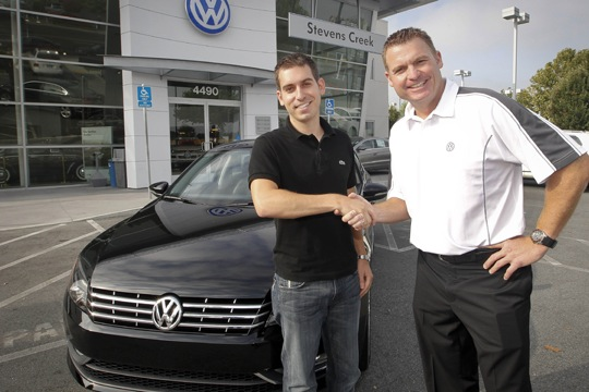 Volkswagen Delivers First 2012 Passat to Customer featured image large thumb0