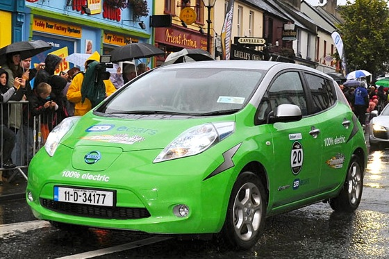 Nissan Leaf Completes 600-Mile Road Rally featured image large thumb0