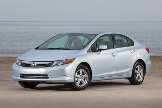 Honda Launches Natural Gas-Powered Civic featured image large thumb0