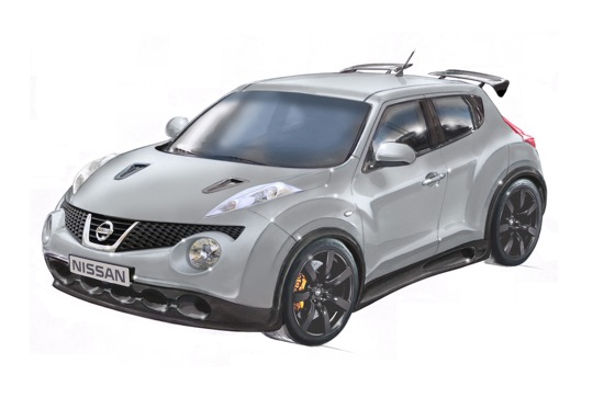 New Nissan Juke-R Combines Juke with GT-R Sports Car featured image large thumb0