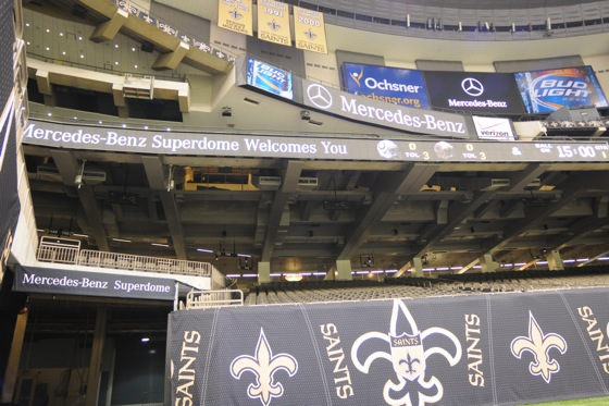 Mercedes-Benz Wins Naming Rights Deal for the Superdome featured image large thumb0