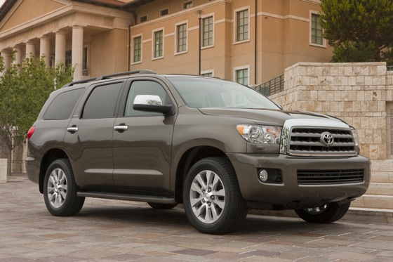 Toyota Adds Features to 2012 Sequoia