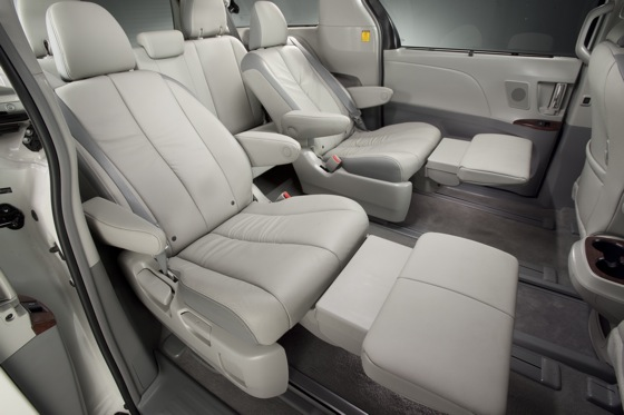 Toyota Adds New Creature Comforts, Price Increase to 2012 Sienna