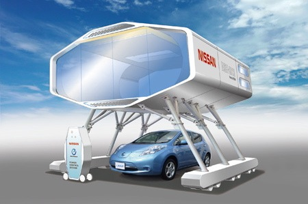 Electric Cars are Key to Nissan's Prototype Home of the Future featured image large thumb0