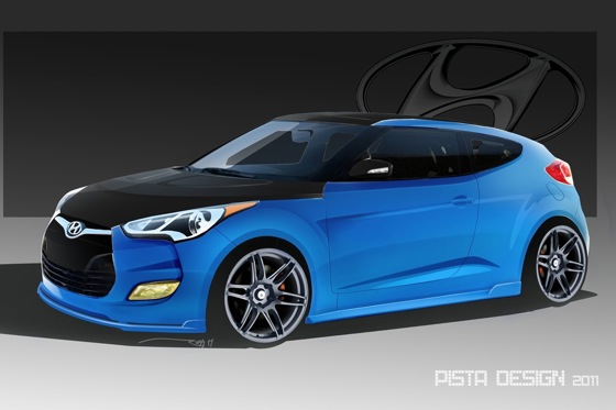 Hyundai Shows Custom Veloster featured image large thumb0