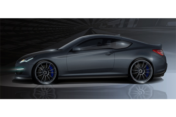 Hyundai to Show Upgraded Genesis at SEMA featured image large thumb0