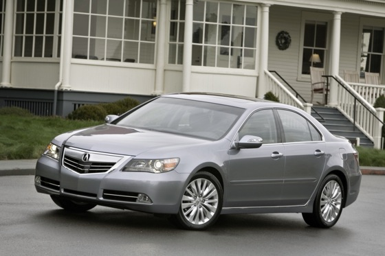 2012 Acura RL Priced at $47,700