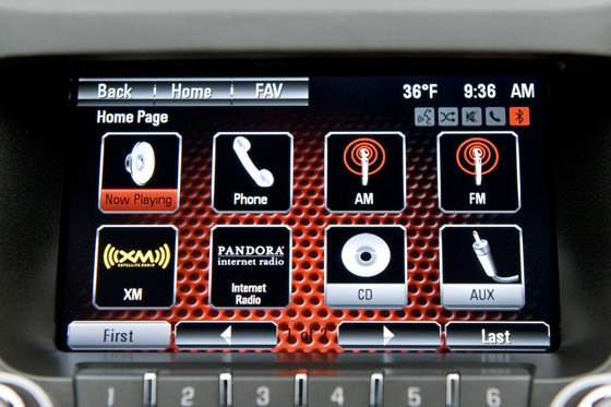 GMC Terrain Adds Touch-Screen Navigation for 2012