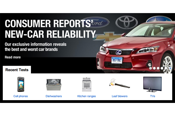 Annual 2011 Consumer Reports' Reliability Survey featured image large thumb0