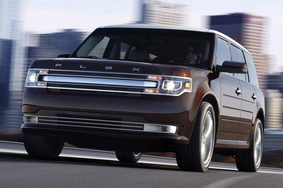 2013 Ford Flex Updated with New Nose and More Tech