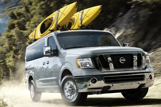Nissan to Roll Out NV Passenger Van