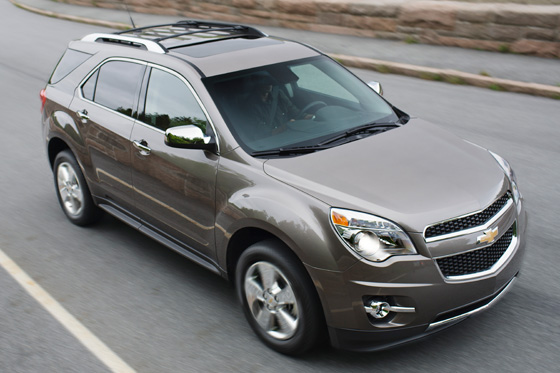 Chevrolet Updates Equinox for 2012