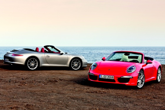 Porsche Shares Details on New 911 Cabrio