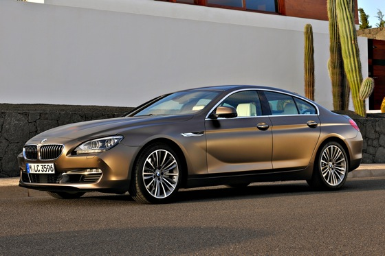 BMW Announces 6 Series Gran Coupe