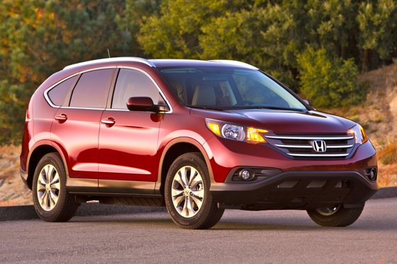 Honda Prices Redesigned 2012 CR-V