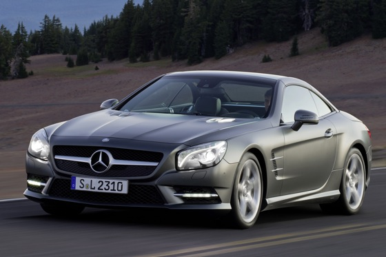 Mercedes Details Upcoming 2013 SL-Class