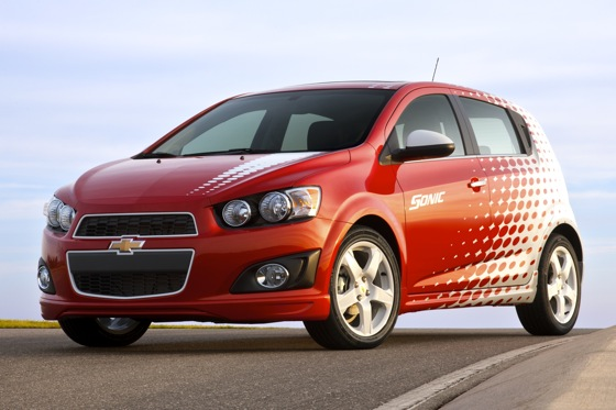Chevrolet Recalling Sonics Over Brake Pads featured image large thumb0