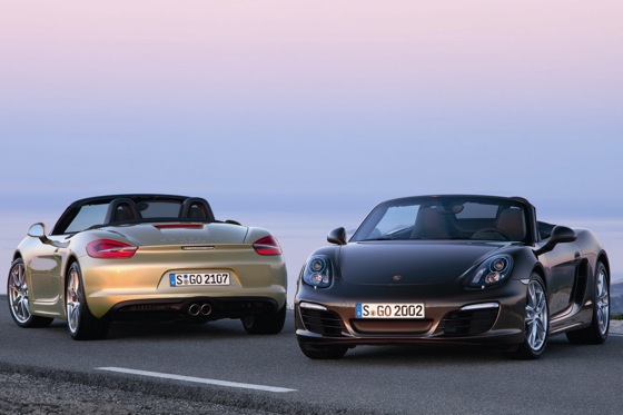 Porsche Unwraps New Boxster featured image large thumb0