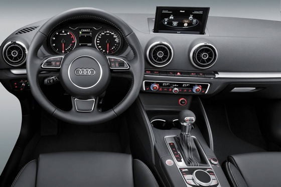 Audi Previews 2013 A3's Interior at CES featured image large thumb0