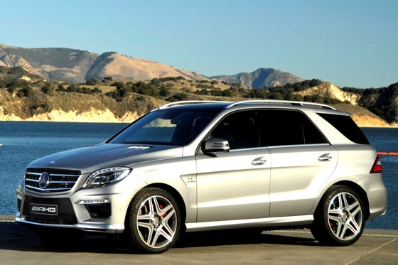 Mercedes Prices High-Performance ML63 AMG