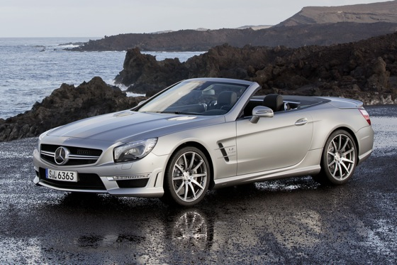 Mercedes Reveals New SL63 AMG