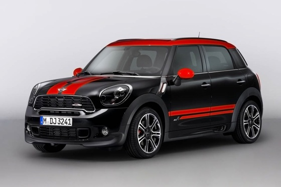 Mini Releases John Cooper Works Countryman