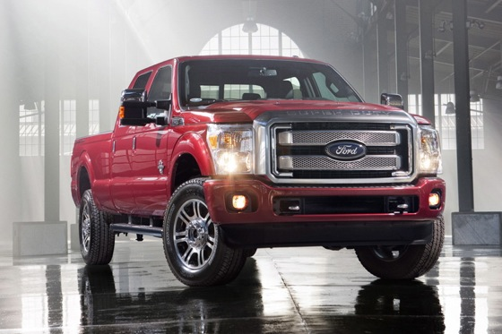 Ford Reveals 2013 F-Series Super Duty
