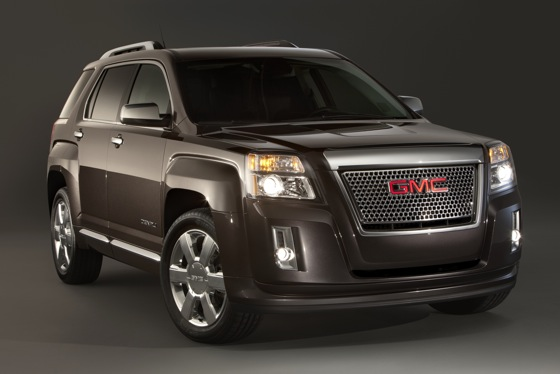 GMC Shows New 2013 Terrain Denali