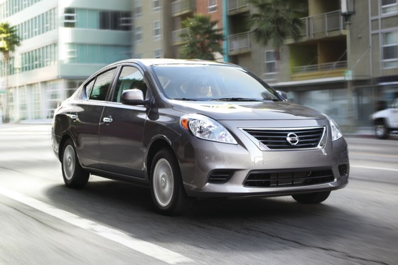 Nissan Versa Sedan Named IIHS Top Safety Pick