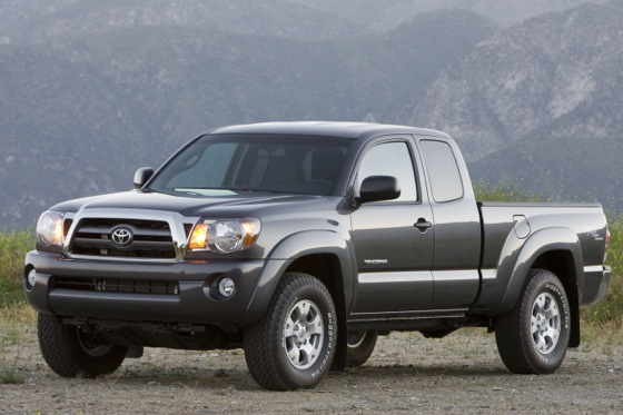 Toyota Recalling Nearly 500,000 Tacoma Pickups