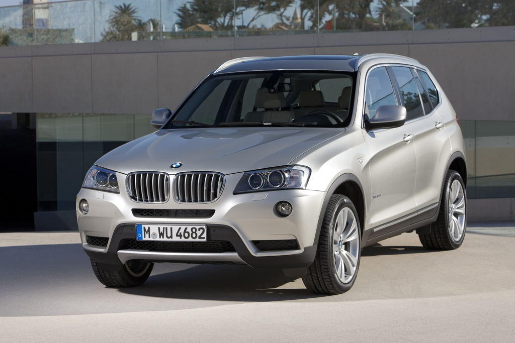 EPA Rates 2013 BMW X3 at Top of Class