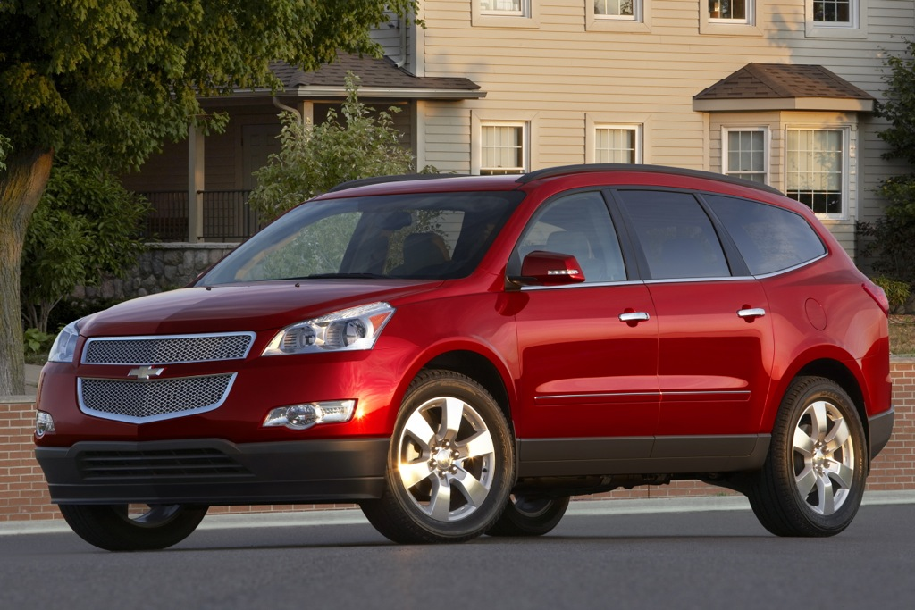 GM Recalls Acadia, Enclave and Traverse SUVs