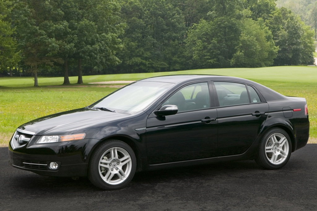 Acura Recalling More TL Sedans over Fire Hazard