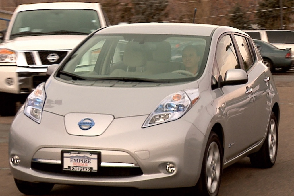 Nissan Shows Another Use for the Electric Car: Emergency Power