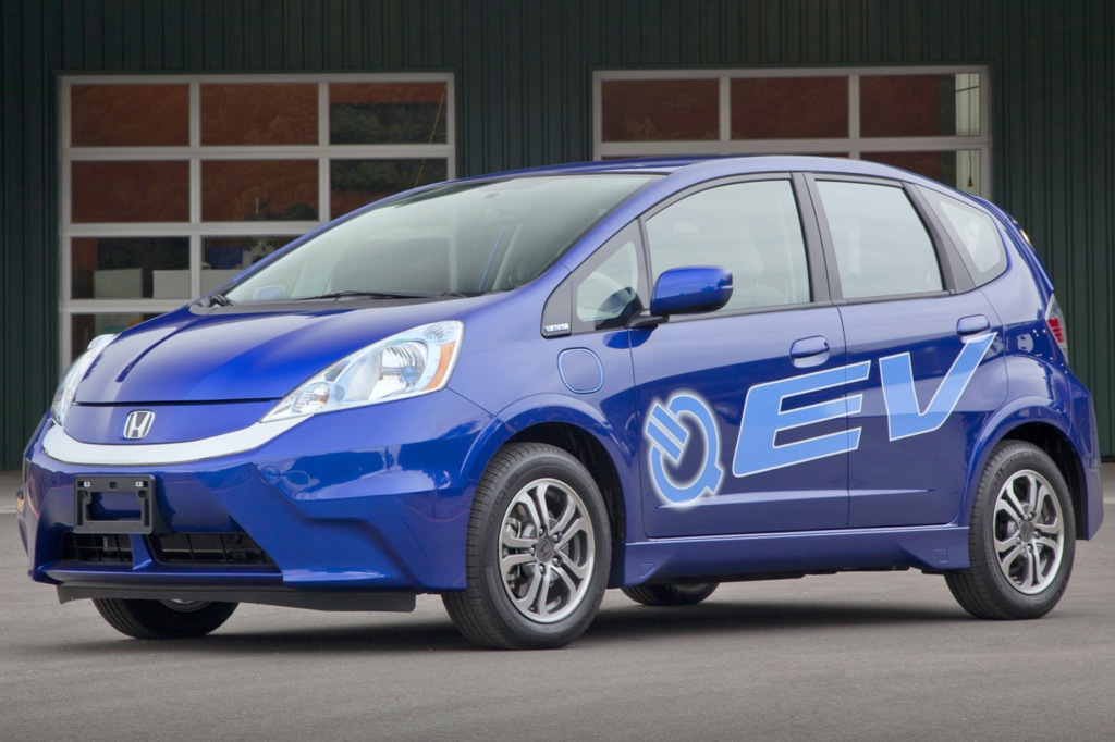 2013 Honda Fit EV Gets Ground-Breaking EPA Rating