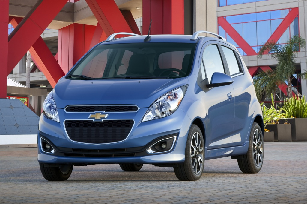 Chevrolet Spark Gets EPA Fuel Economy Rating