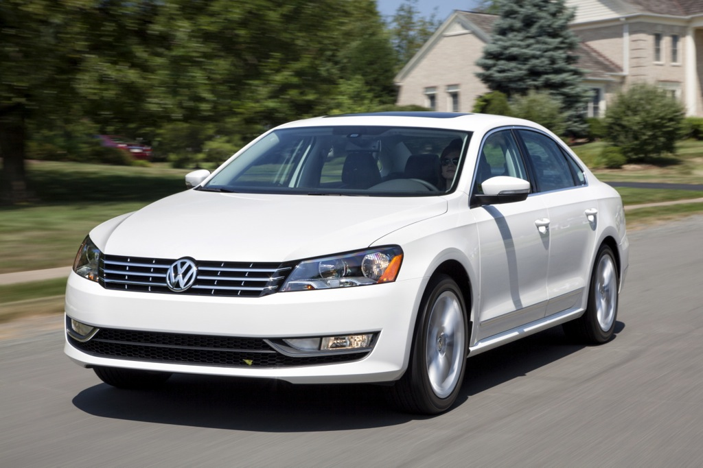 VW Updates Passat for 2013