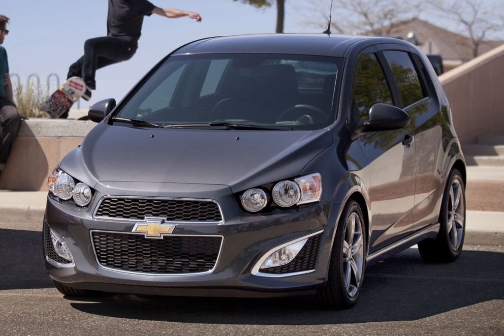 2013 Chevrolet Sonic RS Priced under $21,000