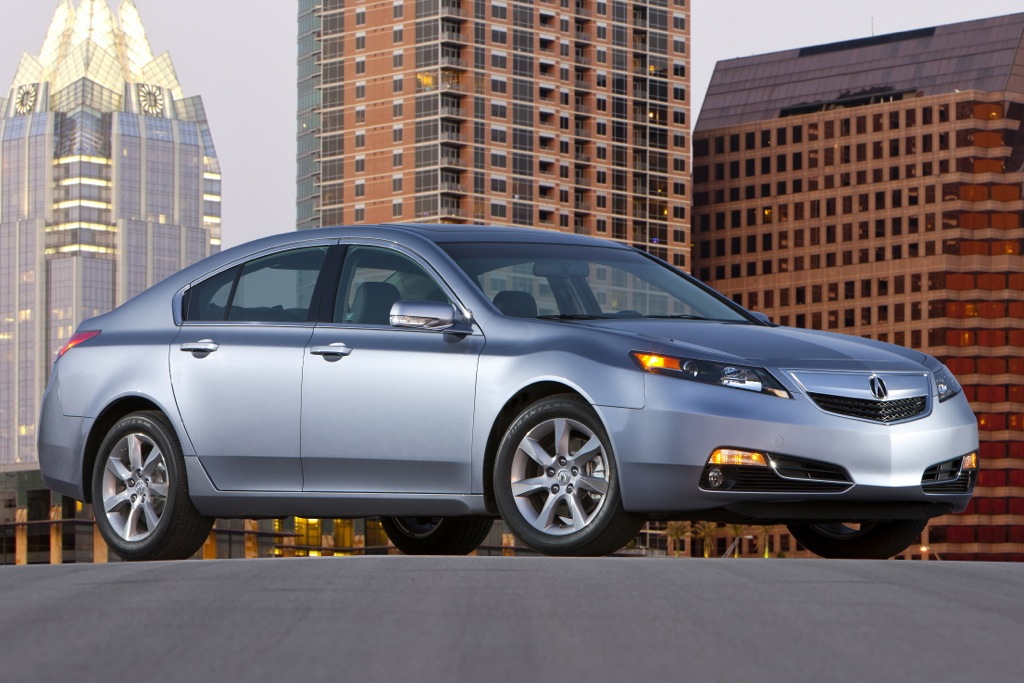 2013 Acura TL Equipment and Pricing Announced